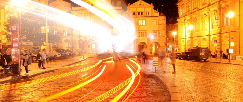 Zlatá Praha Malostranské náměstí
