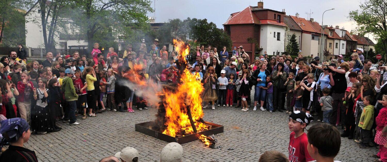 Pálení čarodějnic Praha