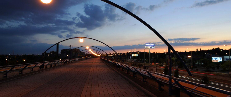 Stezka pro pěší & cyklisty Černý Most - Rajská Zahrada