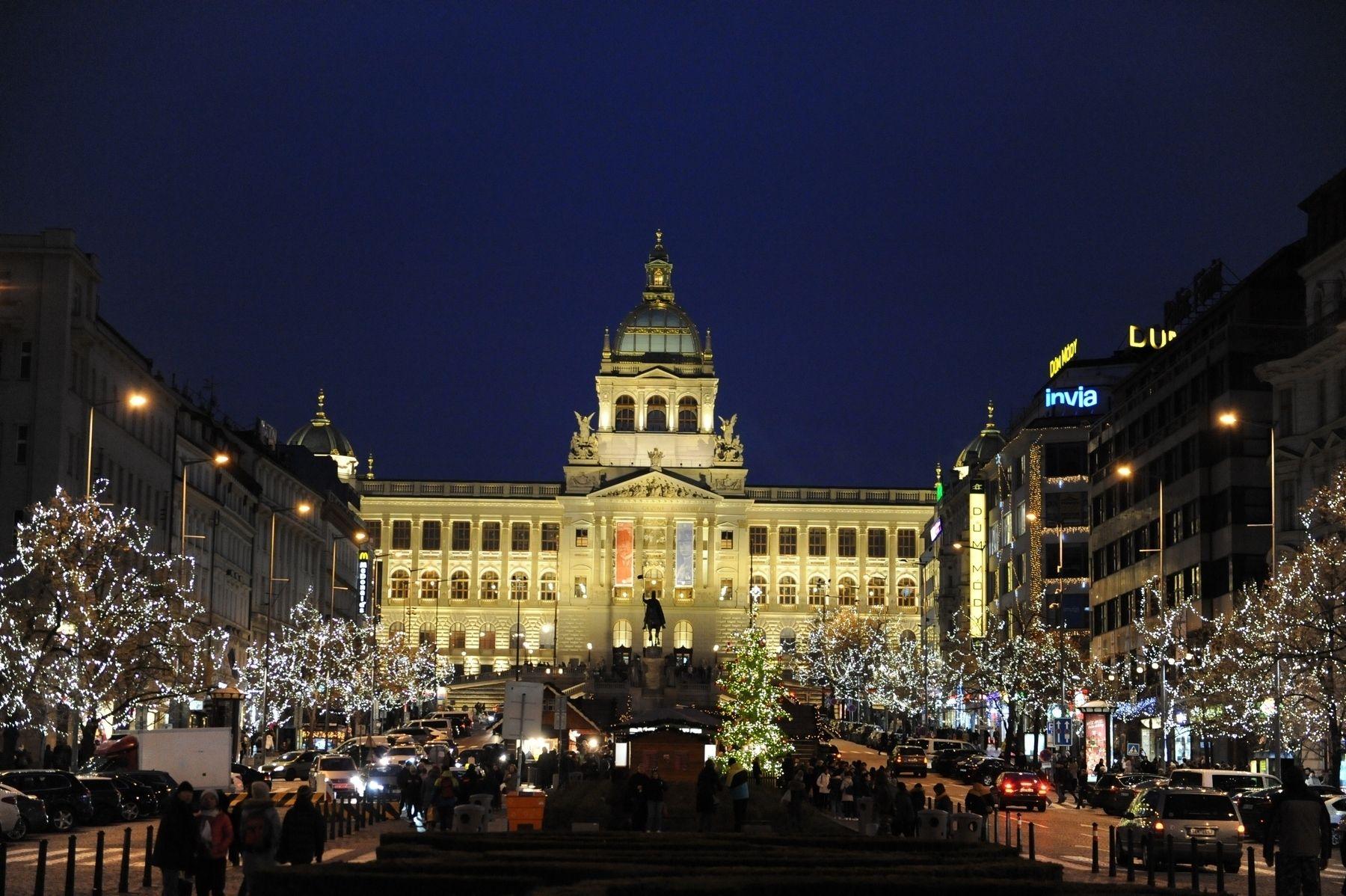 Advent Václavské náměstí