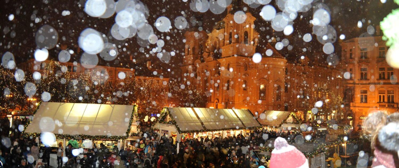 Advent Staroměstské náměstí