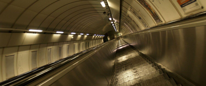 Eskalátory pražského metra