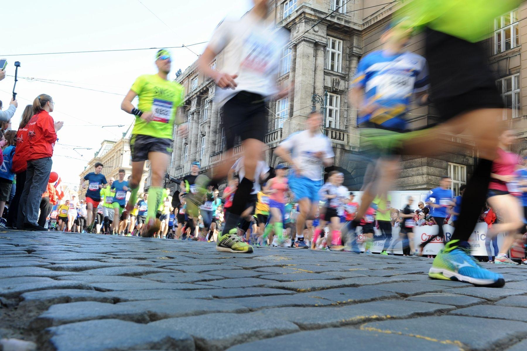 Půl maratón Praha