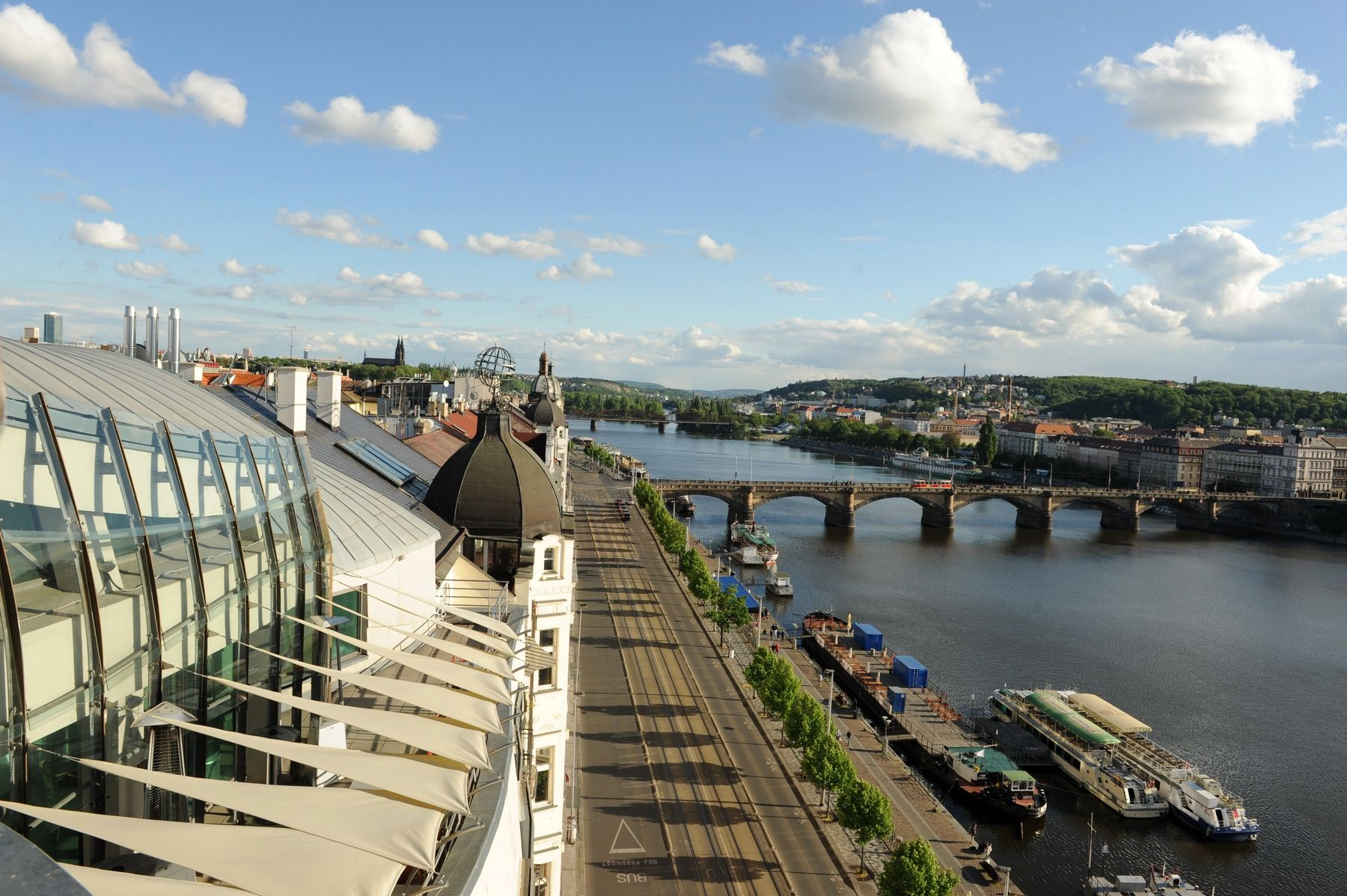 Praha z Tančícího domu