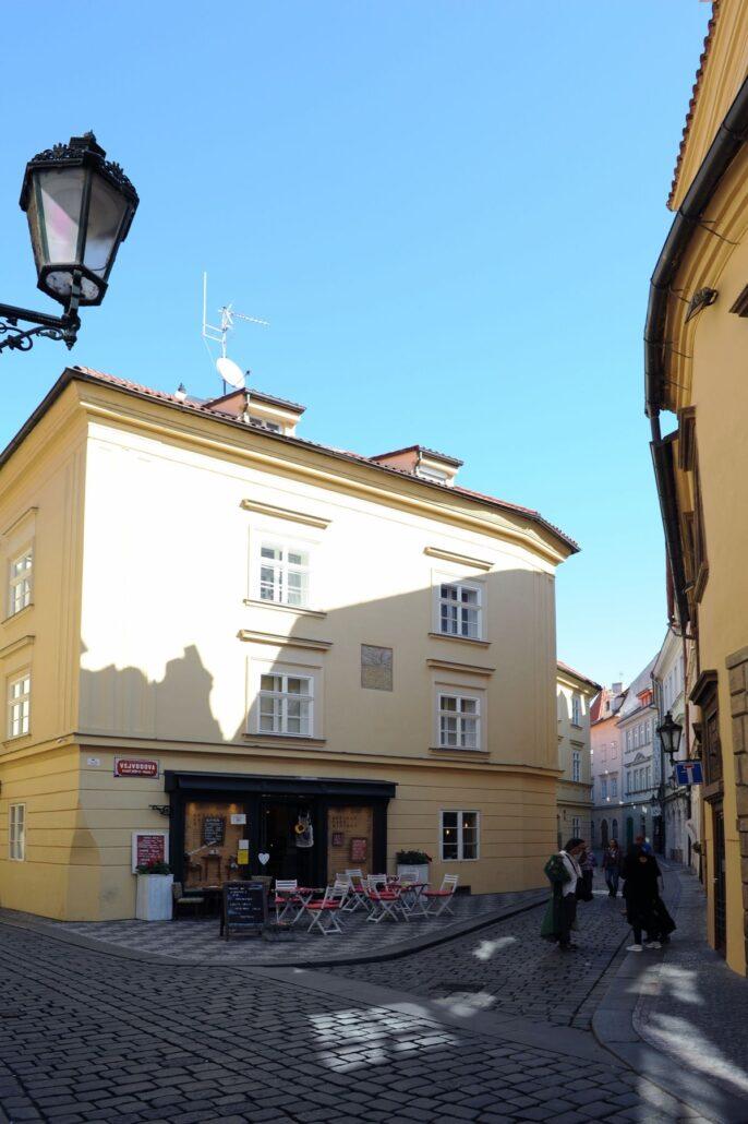 Roh Jilské a Vejvodovy ul Staré Město Pražské