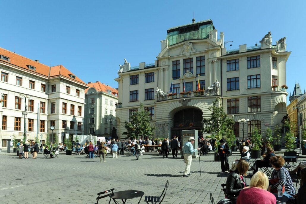 Mariánské náměstí, Staré Město, budova Magistrátu