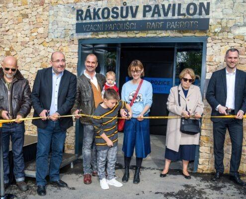 Rákosův pavilon_otevření