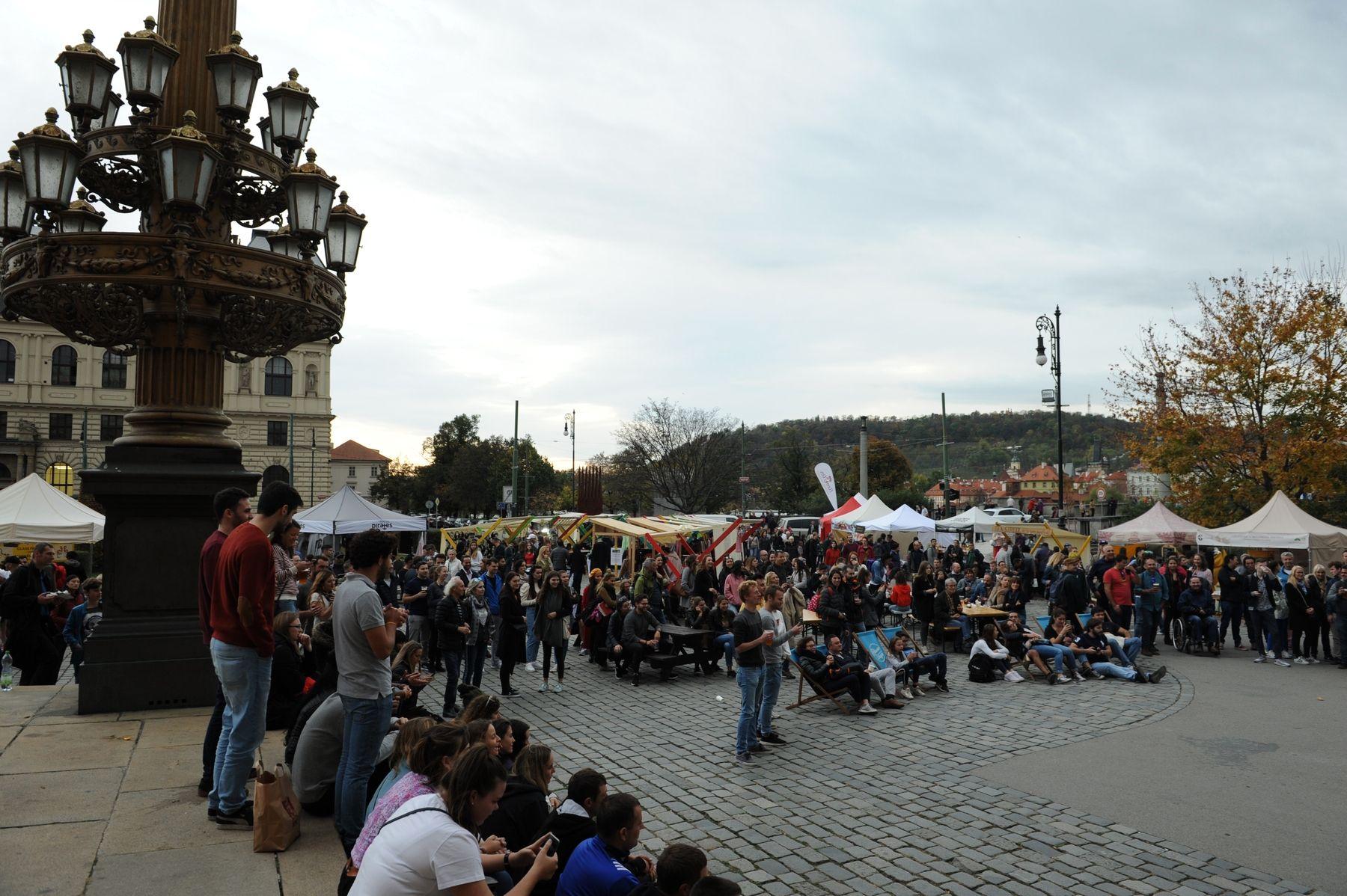 náměstí J. Palacha, Praha 27.říjen 2019