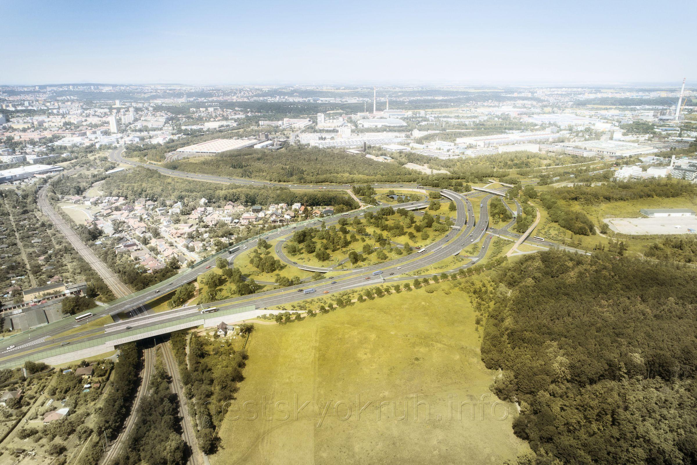 Pražští radní schválili projekt pro městský okruh, většina povede tunelem