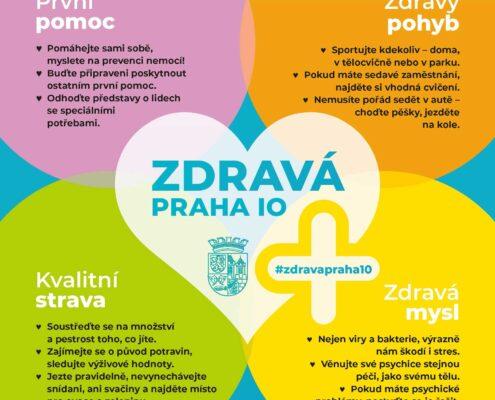 MČ Praha 10 startuje velkou osvětovou kampaň na téma zdraví