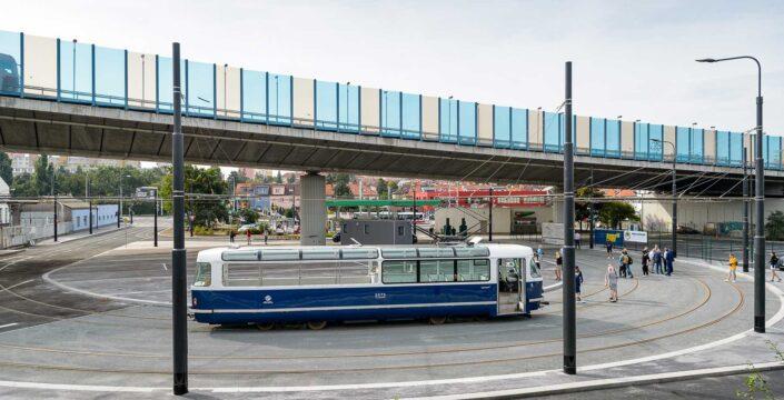 tramvajová smyčka Zahradní Město