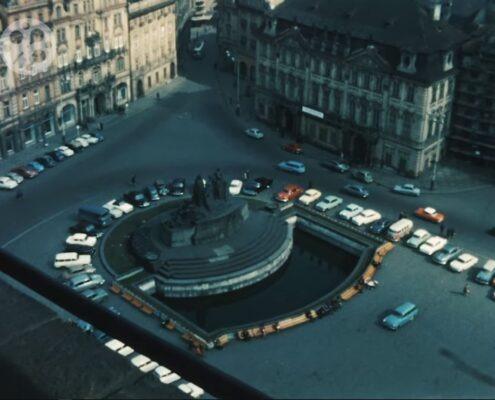 Praha roku 1966