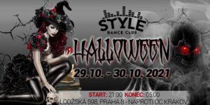 HALLOWEEN WEEKEND Style Dance Club Praha