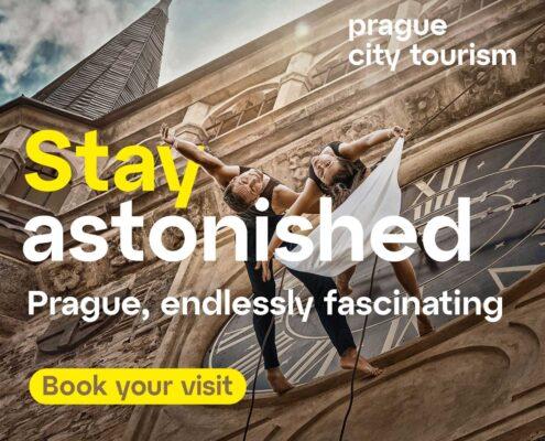 Prague City Tourism s partnery spouští novou kampaň