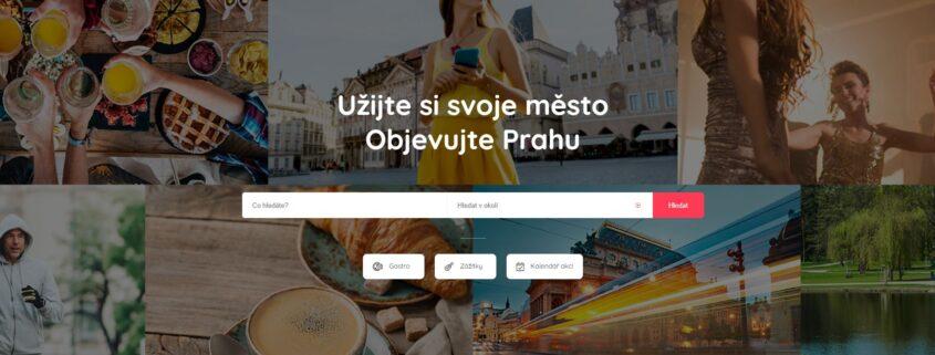 Praha web moje město